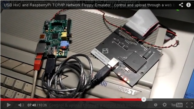 Raspberry Pi as a universal floppy disk drive emulator